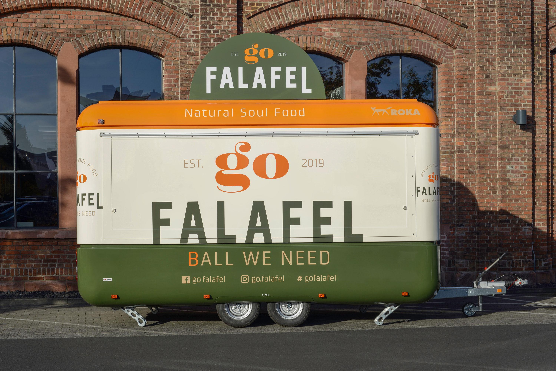 Go Falafel Trailer geschlossen